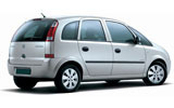 Car rental Vauxhall