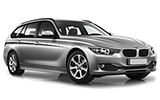 BMW 318 Estate car rental at Barcelona, Spain