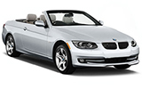 BMW 3 Series Convertible car rental at Barcelona, Spain