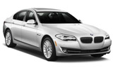 BMW 5 Series car rental at Barcelona, Spain