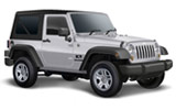 Jeep Wrangler car rental at Fuerteventura, Spain