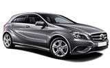 Mercedes A Class car rental at Barcelona, Spain
