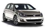 Volkswagen Golf car rental at Fuerteventura, Spain