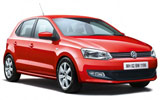 Volkswagen Polo car rental at Barcelona, Spain