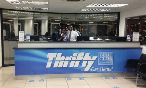 Book in advance to save up to 40% on Thrifty car rental in Malaga - Train Station